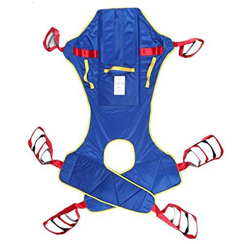 ZHYJJ Patientenlifter Lifting Ganzkörper Patientenlift Sling, Toiletten Sling Patientenlift, Hochleistungs Transferriemen, wasserdichter Polyester Lifting Sling