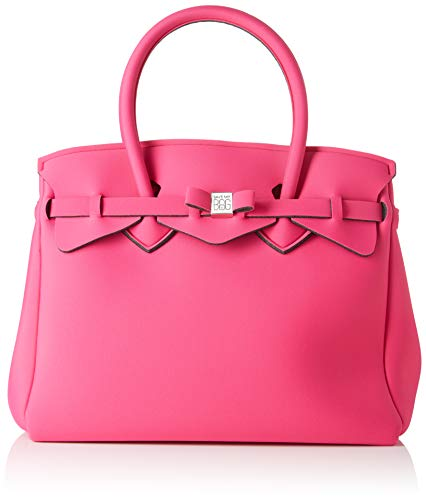 Save My Bag Damen Miss Plus Schultertasche, Pink (Beach Party BEP), 34x29x18 cm