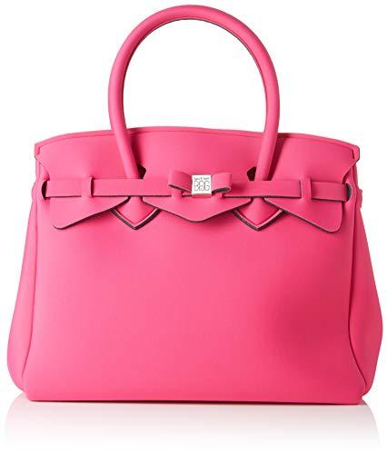 save my bag Miss Plus, Borsa a Spalla Donna, Rosa (Beach Party), 34x29x18 cm (W x H x L)