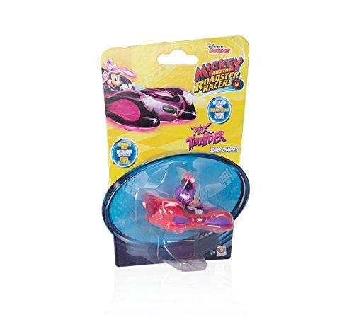 IMC Toys- Minnie Mouse Mini Vehículos: Figurina Pink Thunde