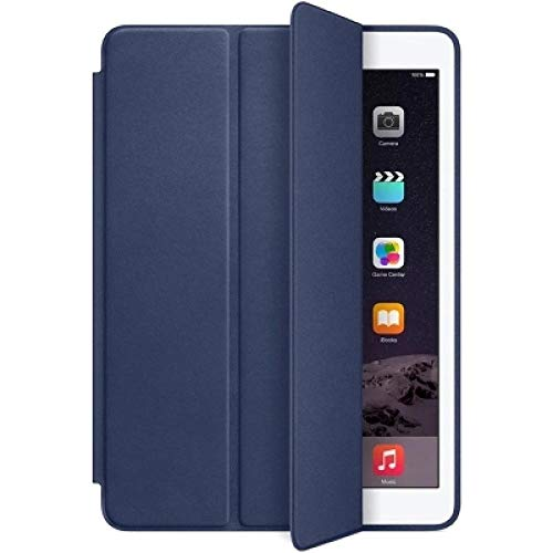 lingtai Case For Ipad 9.7 Inch 2017 2018 5th 6th Generation Case For Air 1 / Air 2 Pu Leather Magnetic Smart Cover 1:1 Stand Cover Case (Color : Navy, Size : 9.7 2018 2017)