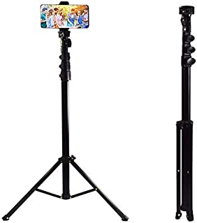 NMD&LR Selfie Stick with Tripod, Retractable Portable Long Selfie Stick 1.6 Meters Mobile Phone Live Stand Integrated Self...