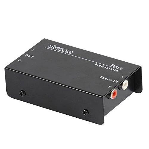 Vivanco PA115 Phono Vorverstärker Inkl. Netzadapter schwarz