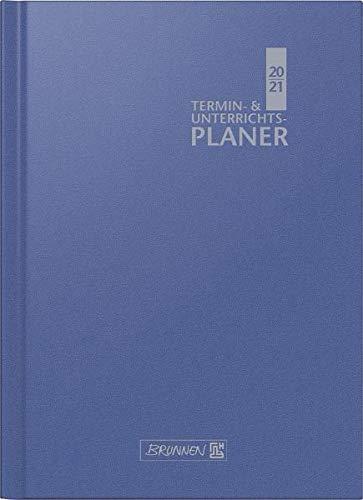 BRUNNEN 1075760301 Wochenkalender/Lehrerkalender 2020/2021 Termin- & Unterrichtsplaner, Lehrer-Sortiment