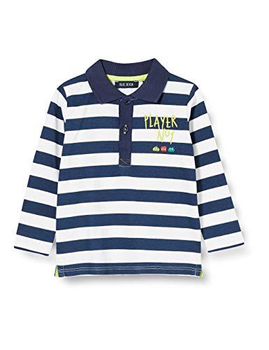 Blue Seven Jungen Knaben Poloshirt Polohemd, 571 DK BLAU Orig, 9-12 Months