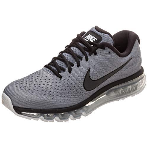 Nike Air MAX 2017, Zapatillas de Trail Running Hombre, Gris (Cool Grey/Black/Pure Platinum 011), 45.5 EU