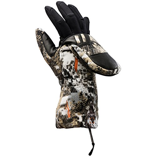 Sitka Incinerator Flip Mitt, Optifade Elevated II, Large