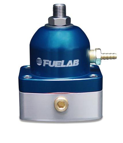 Fuelab 51502-3 Universal Blue EFI Adjustable Fuel Pressure Regulator