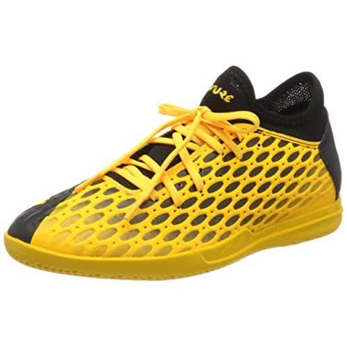 PUMA Future 5.4 IT, Scarpe da Calcio Uomo, Giallo (Ultra Yellow Black), 46 EU