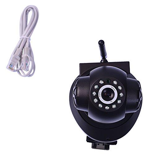 Server Rack SP Series SP005 Wireless HD IP Wi-Fi CCTV Indoor Security Camera (Black)