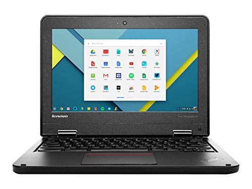 Lenovo 11e Chromebook - 11.6 inch Screen - Intel Celeron - 4GB RAM - 16GB SSD - Webcam - HDMI Port - US Keyboard (Renewed)