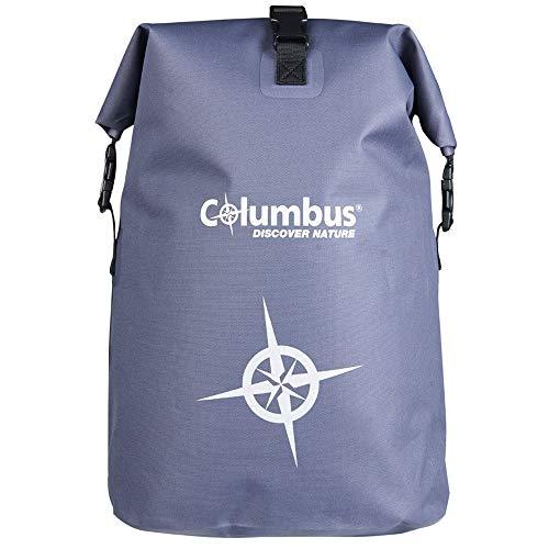 COLUMBUS Sac à Dos Imperméable Dry Backpack DB 25L Léger Sac à Dos Randonnée Voyage Trekking Pêche 25 litres Multifonctionnel