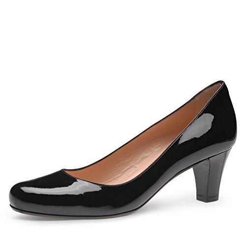 Evita Shoes Damen geschlossen Pumps, Schwarz (Schwarz), 37 EU