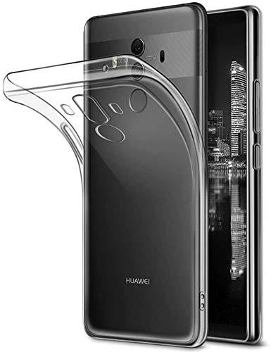 Gosento Huawei Mate 10 Pro Hülle TPU Hülle, Soft Flex Silikon Crystal Ultra Dünn Clear Schutzhülle Cover für Huawei Mate10 Pro (Transparent) EINWEG