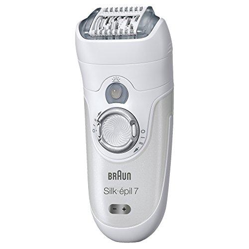 Braun Silk-épil 7 7-561 - Depiladora eléctrica inalámbrica en seco y húmedo,...