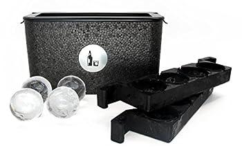 Wintersmiths Chest Clear Ice Tray 7 3/8 H x 4 7/8 W x 13 3/8 L Black