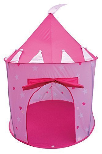 POCO DIVO Princess Castle Fairy House Girls Pink Play Tent