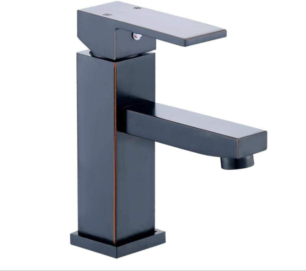 security SH-CHEN and Cold At the price of surprise Basin Black Faucet Mixersimple Washbasin