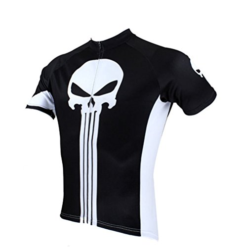 Uriah Men's Cycling Jersey Short Sleeve Punisher Size M(CN)
