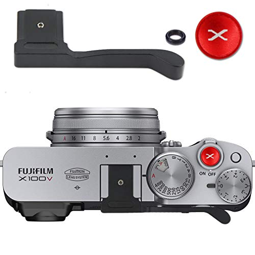 Thumbs Up Grip para Fuji Fujifilm X100V (Black)