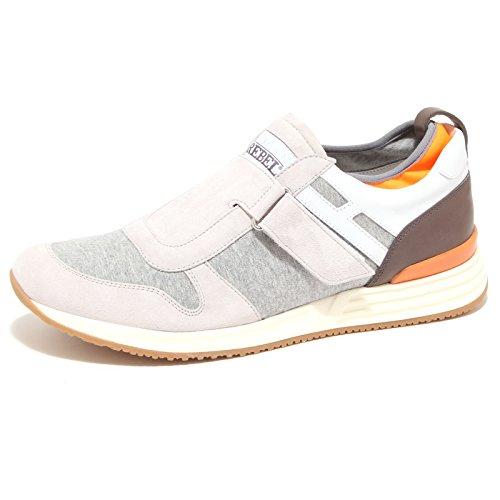 scarpe uomo modello hogan Hogan 90281 Sneaker Rebel R218 Modello Strap Scarpa Uomo Shoes Men [8.5]