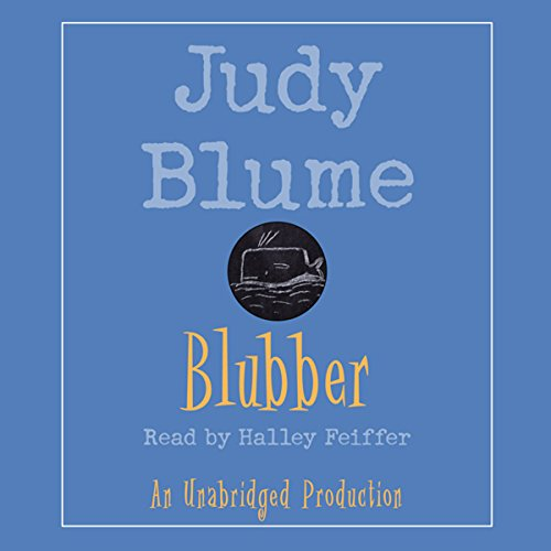 Blubber audiobook cover art