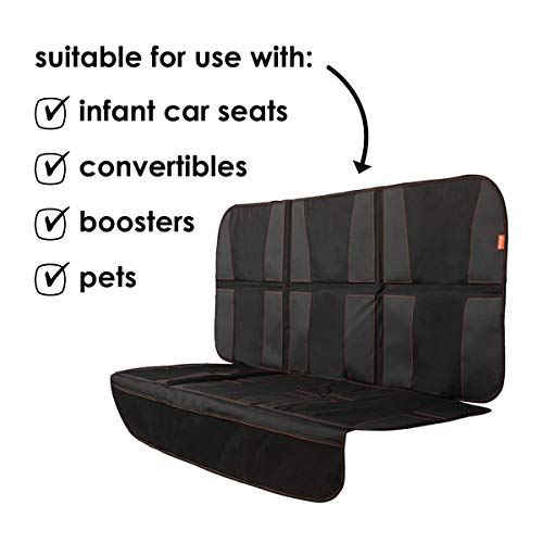 Diono Ultra Mat XXXL Extra Large Car Seat Protector for Complete Protection Against Dirt
