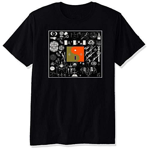 Herren Bon Iver 22 A Million Black Short Sleeve T-Shirt Tee X-Large