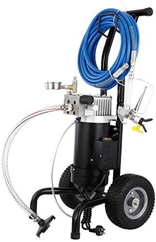 Anciun 900W Airless Pulverizador de pintura 1,9L/min con manguera de 15 m, para pintura de pintura y pintura de látex