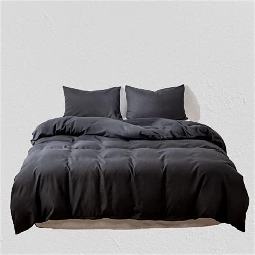 Ropa De Cama De Color Puro Textiles para El Hogar Funda Nórdica Ambiente Simple Moderno Duradero Y Fácil De Limpiar 200x230cm