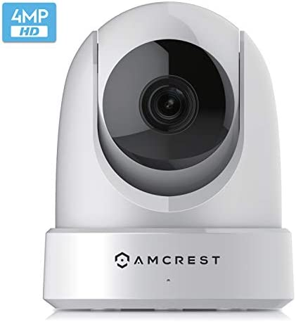 Amcrest 4MP UltraHD Indoor WiFi Camera Security IP Camera with Pan Tilt Two Way Audio Night product image