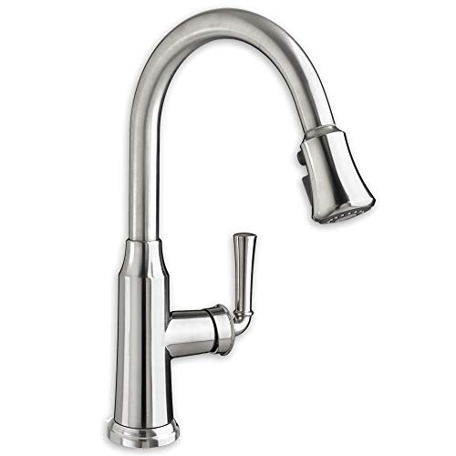 American Standard 4285300.002 4285.300.002 Polished Chrome Portsmouth Single Lever Pull Down Kitchen