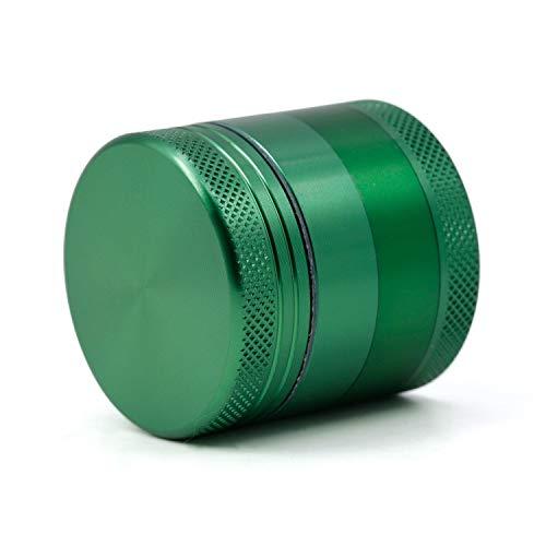 HDGAE Metalen 4-delige slijpmachine zinklegering grinding kruiden koffiebonen zout magnetische afdekking afneembare draagbare tweedehandskeuken 40 mm