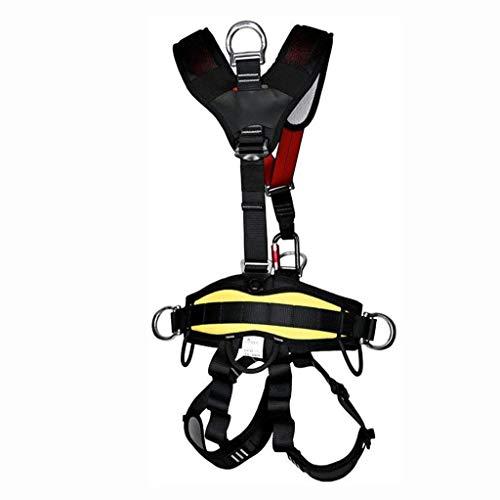 Sicherheitsgurt Absturzsicherung Vollkörper Auffanggurt Fallschutz Geschirr for Bergsteigen zum Bergsteigen Klettern,Bergsteigen nach außen Bandrettung,Erweiterung des Trainings,Abseilausrüstung