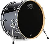 DW Performance Series Bass Drum - 14 Inches X 24 Inches Chrome Shadow FinishPly