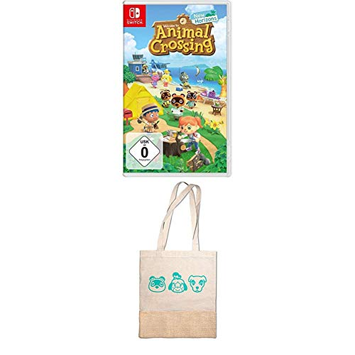 Animal Crossing: New Horizons [Nintendo Switch] + Tragetasche