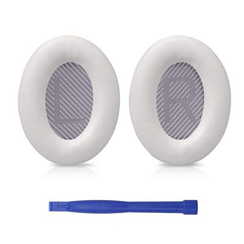 SoloWIT® professionelle Ersatz Ohrpolster für Bose QC35, kompatibel mit Over-Ear Kopfhörern von Bose QuietComfort 35 (QC35) und Quiet Comfort 35 II (QC35 ii)