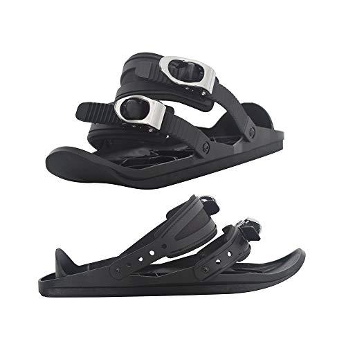 ZHWSXXZ-QZD Winter Wearable Mini Ski Boots, Outdoor Sports Adjustable Ski Boots and Skating Snowboard Binding Snowboard Outdoor Sports Goods,A