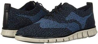 [コールハーン] メンズ 男性用 シューズ 靴 スニーカー 運動靴 Zerogrand Stitchlite Oxford Winterized - Black/Stellar Knit/Dove [並行輸入品]