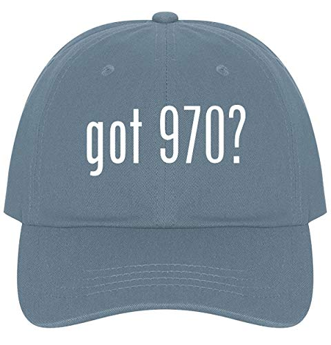 The Town Butler got 970? - A Nice Comfortable Adjustable Dad Hat Cap, Light Blue