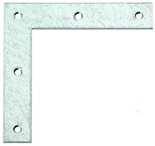 GAH-Alberts 332907 Eckwinkel - sendzimirverzinkt, 160 x 160 x 30 mm