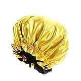 Silk Bonnets for Women, Satin Bonnet for Natural Hair Bonnet for Sleeping Cap Satin Hair Bonnets for Black Women Silk Bonnet for Curly Hair