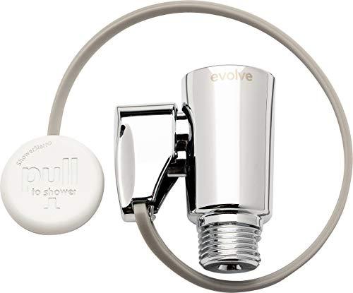 ShowerStart TSV showerhead adapter, Polished Chrome
