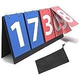 Synergee Flipper Scoreboard Portable Tabletop Flip Score Keeper. Great for Soccer, Ping Pong, Baseball,...