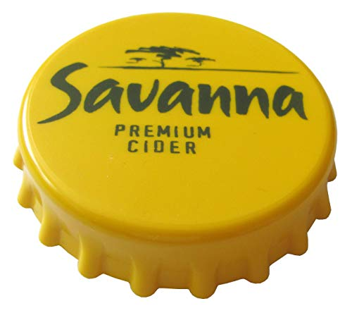 Savanna Brauerei - Premium Cider Beer - Flaschenöffner in Kronkorkenform 80 x 18 mm