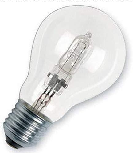 Osram Classic A Halogen-Lampe, E27-Sockel, dimmbar, 77 Watt - Ersatz für 100 Watt, Warmweiß - 2800K