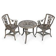 Gablemere Seater Patio Plastic Bronze