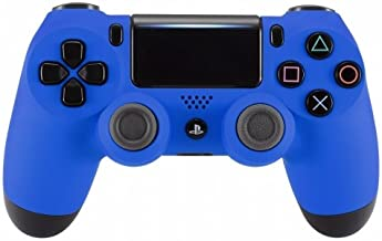 OC Gaming PS4 Dualshock Playstation 4 Wireless Controller Custom Soft Touch New Model (Blue)