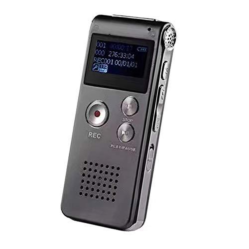 DUTTY Grabadora de Almacenamiento de Voz de Alta fidelidad 8G, Gran Capacidad de Almacenamiento, Alta fidelidad, 20 Horas de...