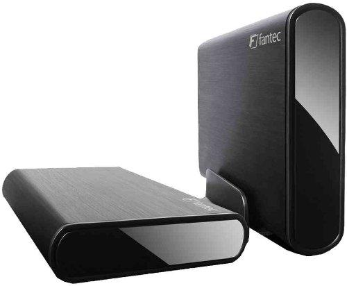 Fantec DB-ALU3e 1TB externe Festplatte (8,9 cm (3,5 Zoll) eSATA, USB 3.0) schwarz